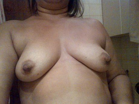Grandes senos en la calle 2